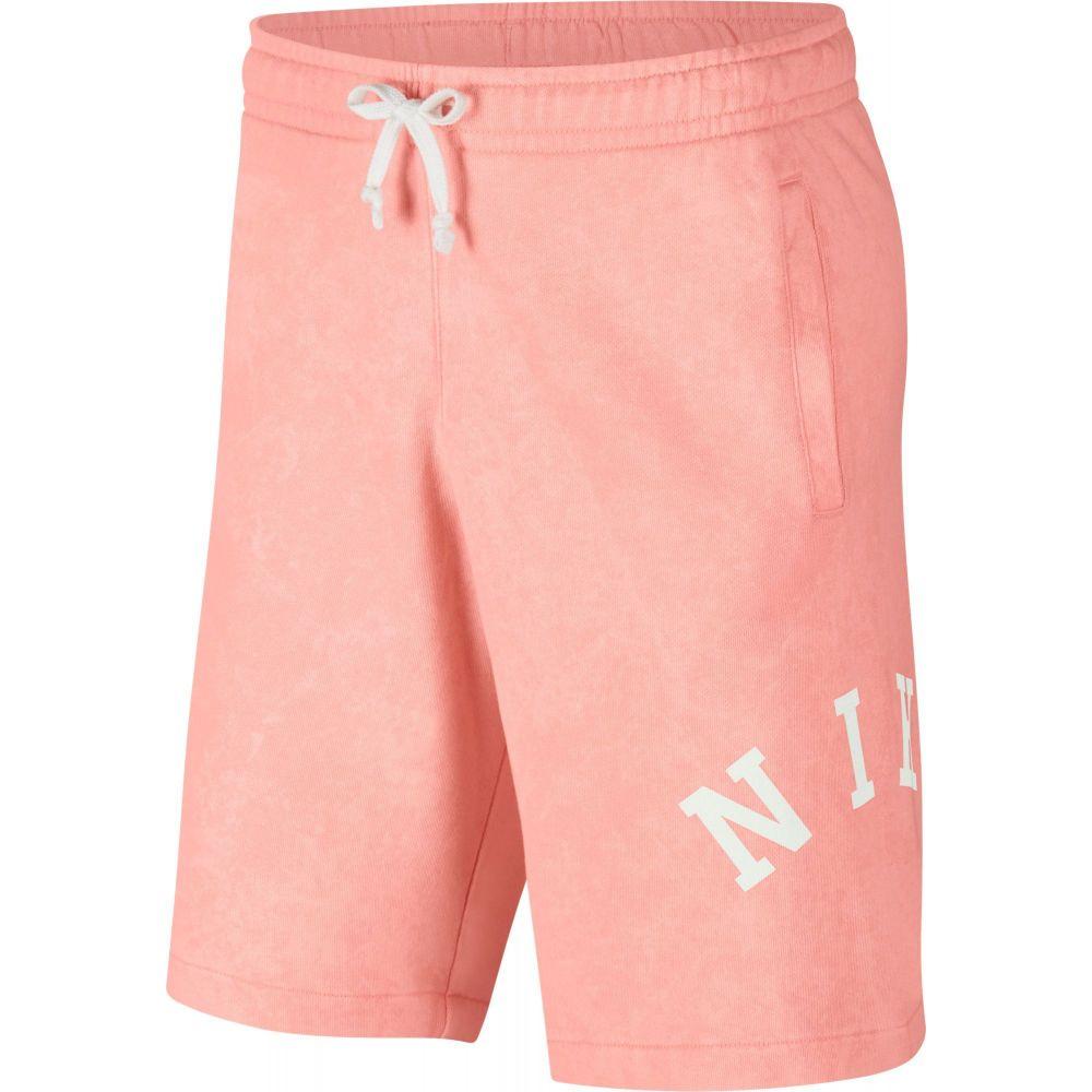 ナイキ Nike メンズ フィットネス・トレーニング ショートパンツ ボトムス・パンツ【Sportswear French Terry Wash Shorts】Bleached Coral/Summit Wte