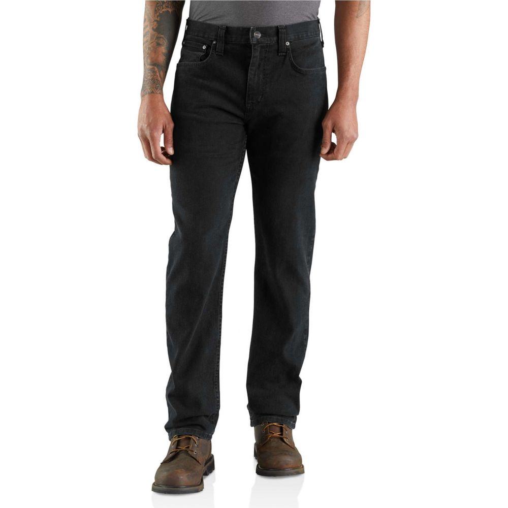 カーハート Carhartt メンズ ジーンズ・デニム ボトムス・パンツ【Rugged Flex Relaxed Fit Straight Leg Jeans】Dusty Black