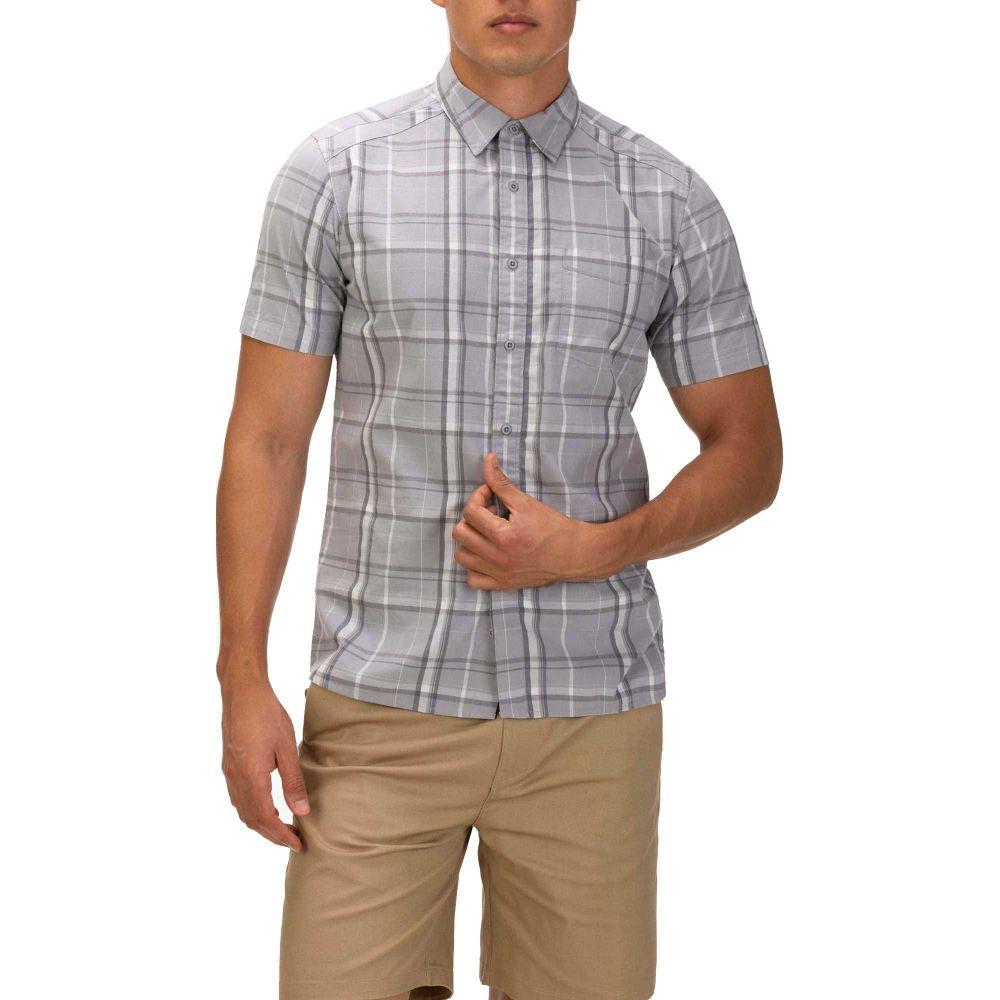 ハーレー Hurley メンズ 半袖シャツ トップス【Frankie Stretch Short Sleeve Button Down Shirt】Wolf Grey