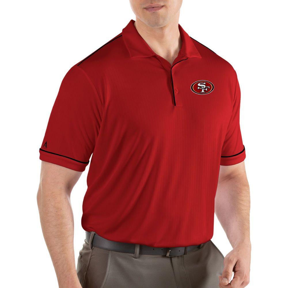 アンティグア Antigua メンズ ポロシャツ トップス【San Francisco 49ers Salute Red Polo】