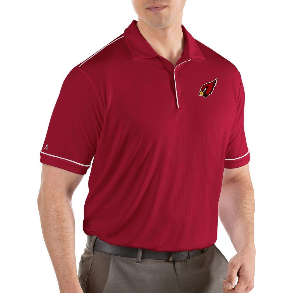 アンティグア Antigua メンズ ポロシャツ トップス【Arizona Cardinals Salute Red Polo】