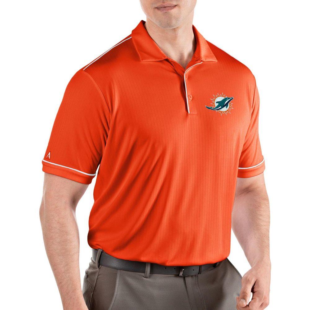 アンティグア Antigua メンズ ポロシャツ トップス【Miami Dolphins Salute Orange Polo】