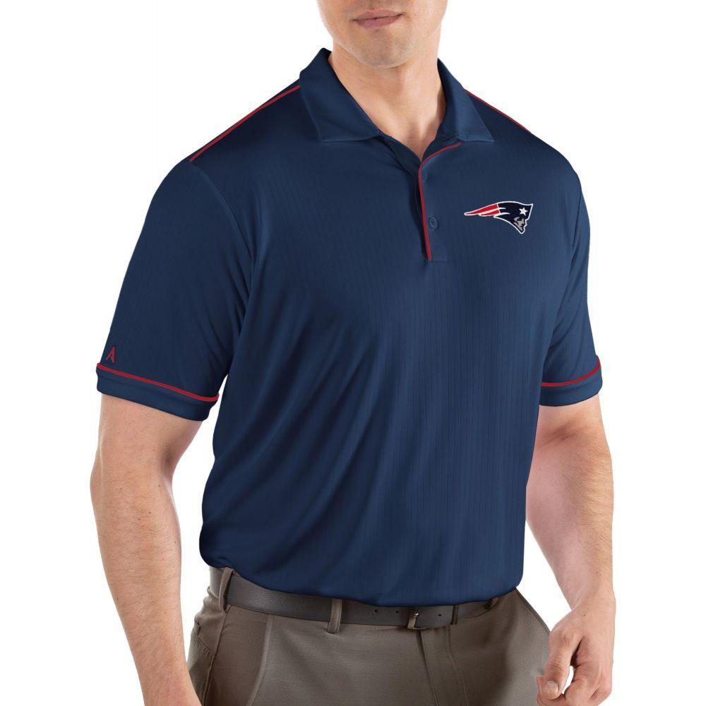 アンティグア Antigua メンズ ポロシャツ トップス【New England Patriots Salute Navy Polo】