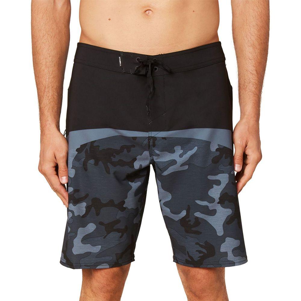 オニール O'Neill メンズ 海パン ショートパンツ 水着・ビーチウェア【Hyperfreak Board Shorts】Black/Camo