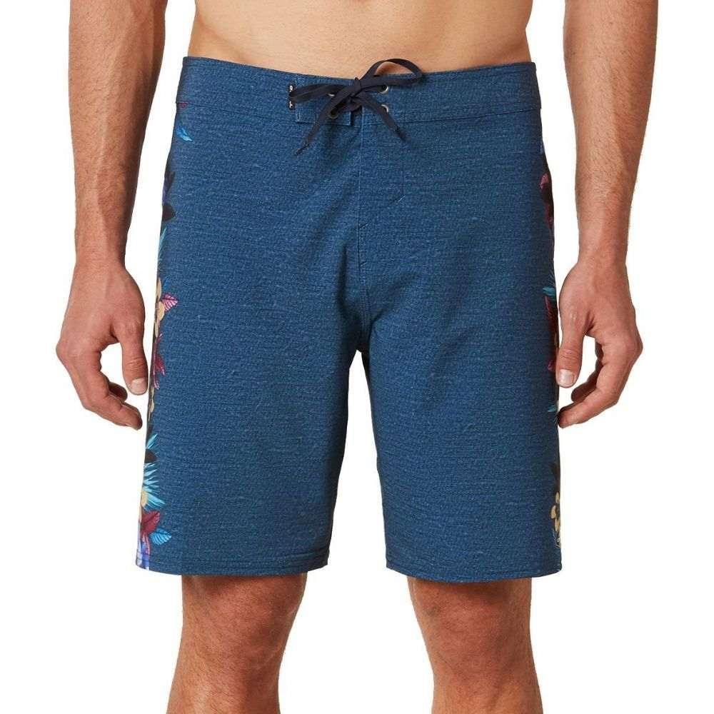 オニール O'Neill メンズ 海パン ショートパンツ 水着・ビーチウェア【Hyperfreak Tropic Board Shorts】Navy