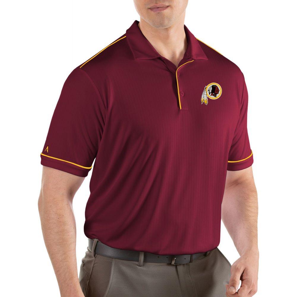 アンティグア Antigua メンズ ポロシャツ トップス【Washington Redskins Salute Red Polo】