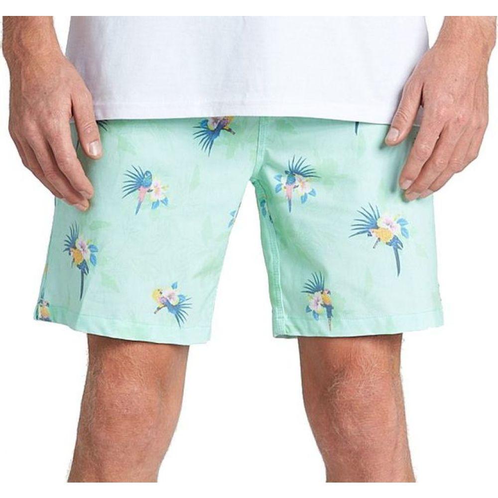 ビラボン Billabong メンズ 海パン ショートパンツ 水着・ビーチウェア【Sunday Layback Shorts】Mint