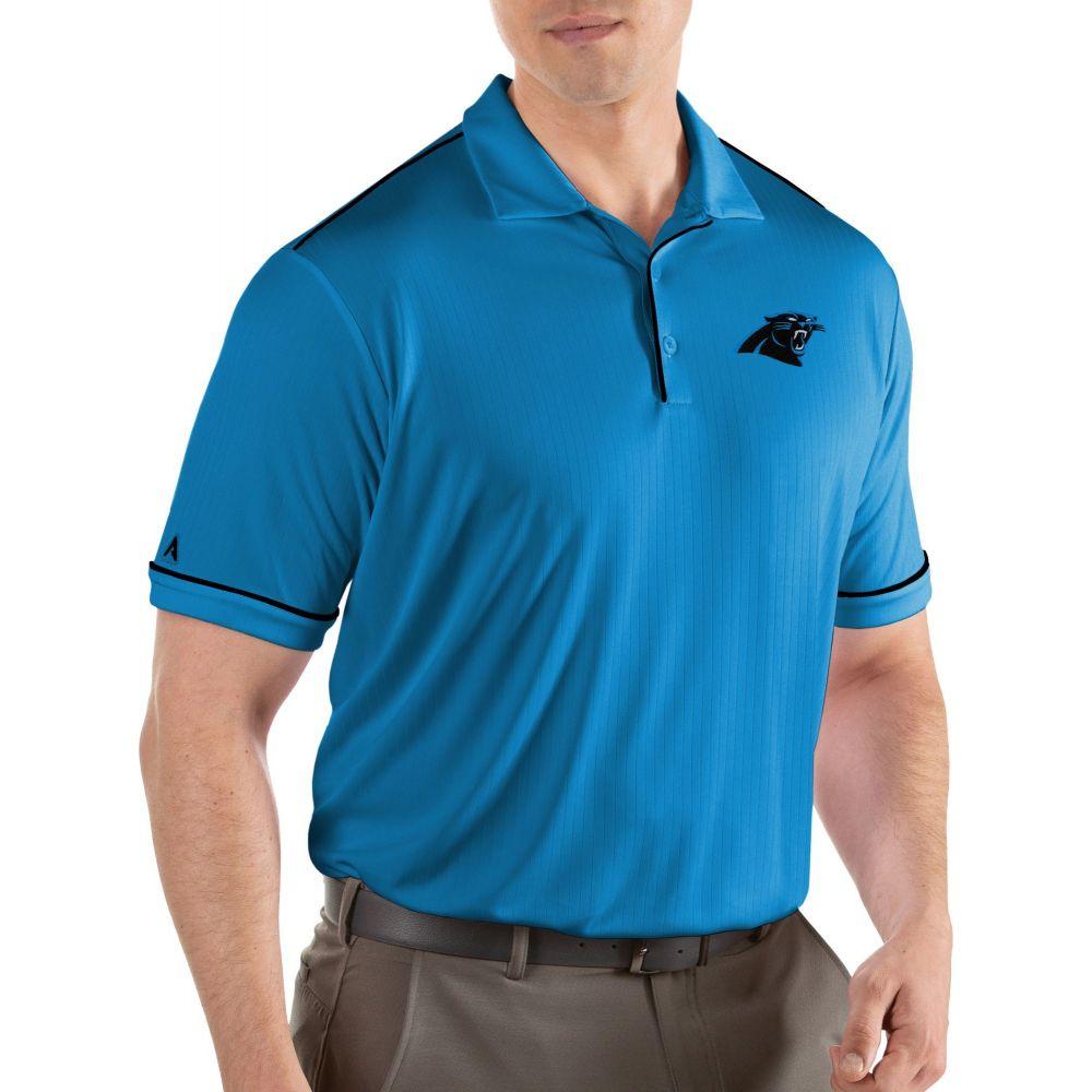 アンティグア Antigua メンズ ポロシャツ トップス【Carolina Panthers Salute Blue Polo】