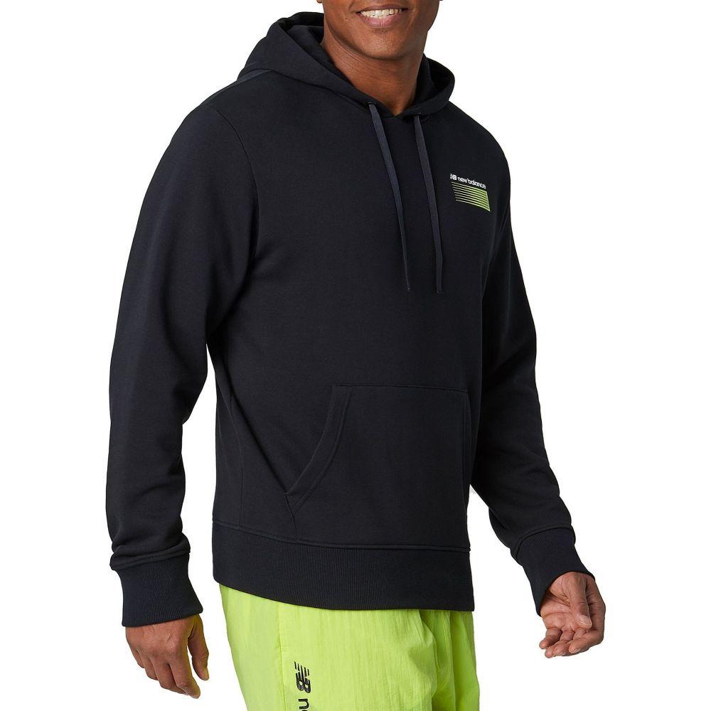 ニューバランス New Balance メンズ パーカー トップス【Sports Style Optiks Hoodie】Black