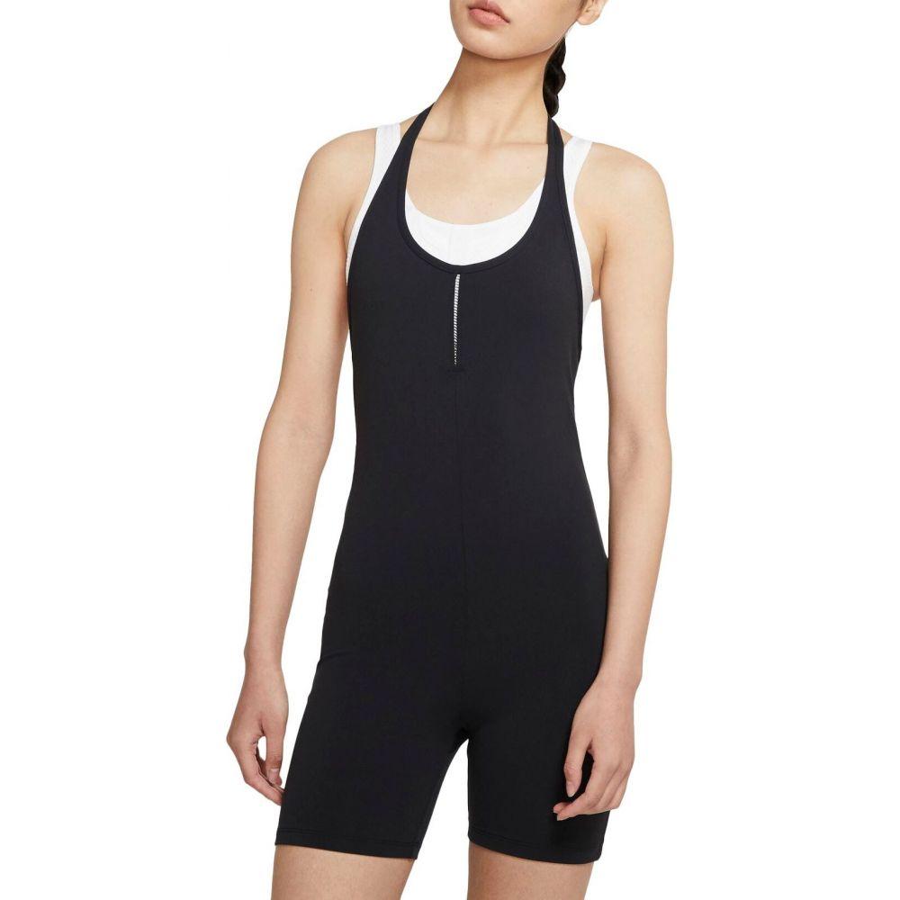 ナイキ Nike レディース ヨガ・ピラティス ジャンプスーツ オールインワン トップス【Luxe Halter Jumpsuit】Black