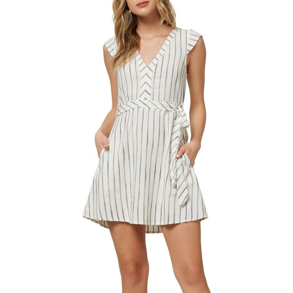オニール O'Neill レディース ワンピース ワンピース・ドレス【Jamyson Striped Dress】Winter White