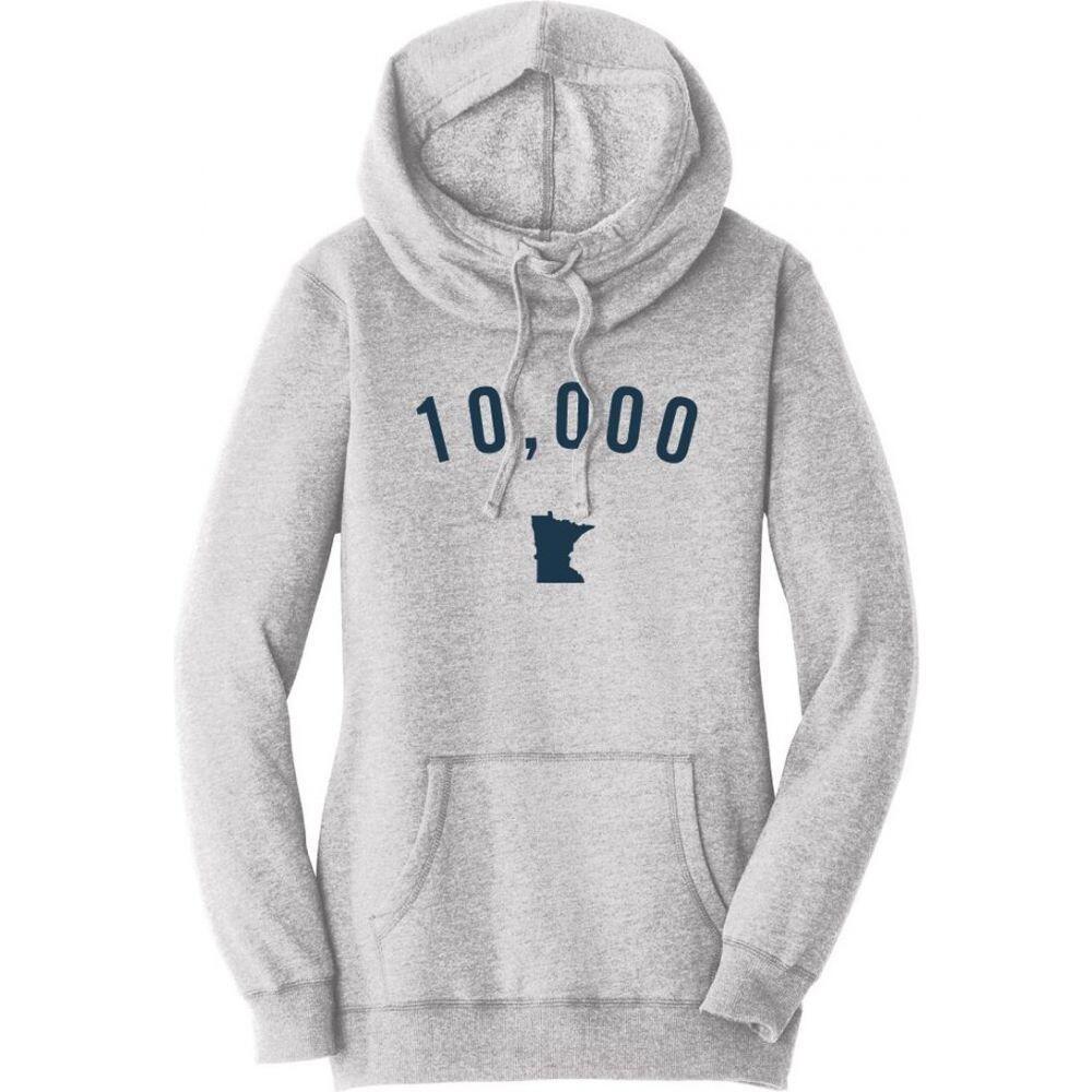 アップノーストレーディングカンパニー Up North Trading Company レディース パーカー トップス【10K Hoodie】Grey