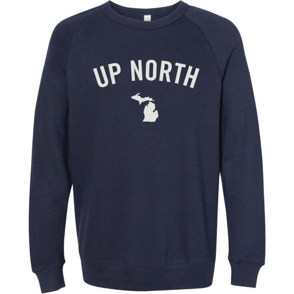 アップノーストレーディングカンパニー Up North Trading Company レディース スウェット・トレーナー トップス【Mississippi Crew Sweatshirt】Navy
