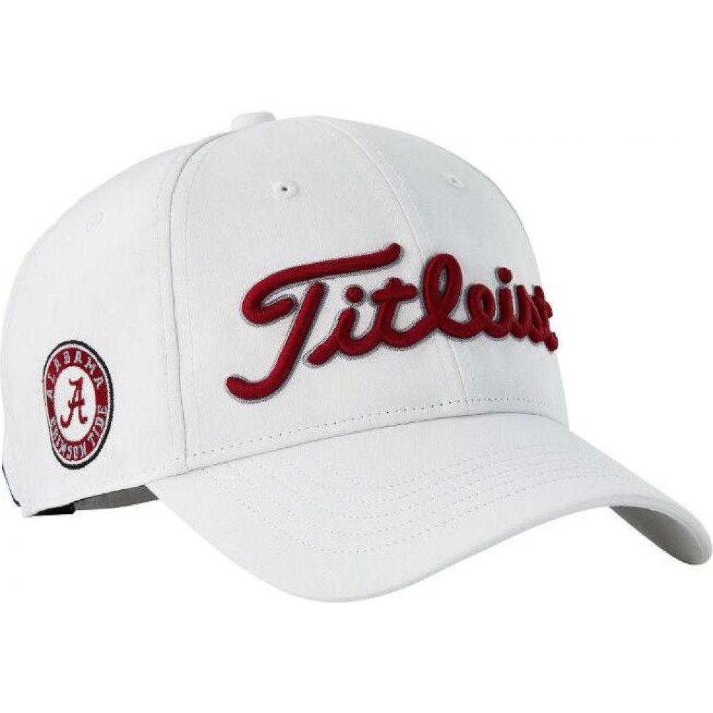 タイトリスト Titleist メンズ 帽子 【Alabama Crimson Tide Performance Golf Hat】