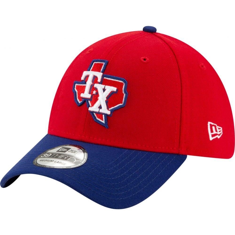 ニューエラ New Era メンズ 帽子 【Texas Rangers 39Thirty Alternate Red Stretch Fit Hat】