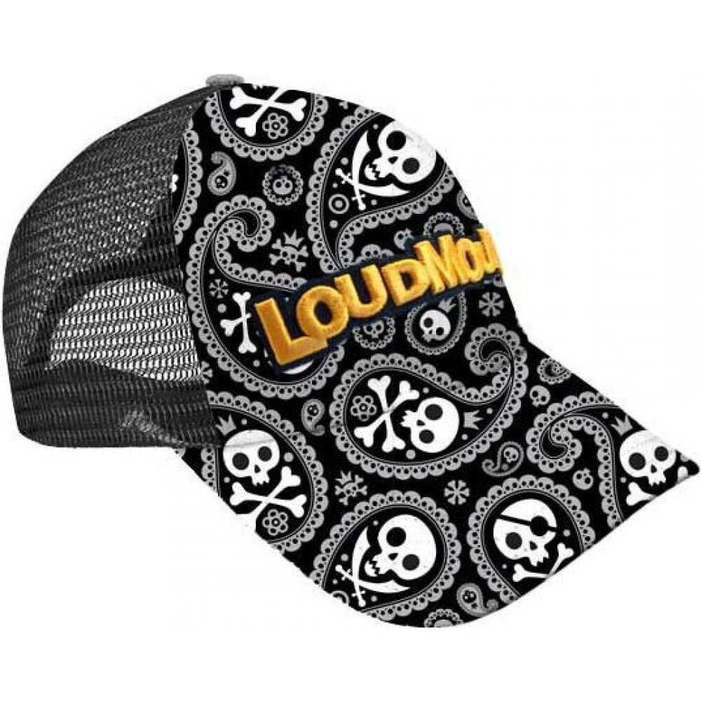ラウドマウスゴルフ Loudmouth Golf ユニセックス キャップ トラッカーハット 帽子【Loudmouth Shiver Me Timbers Trucker Golf Hat】Multi