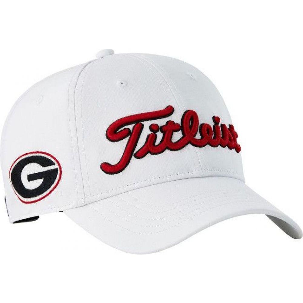 タイトリスト Titleist メンズ ゴルフ 【Georgia Bulldogs Performance Golf Hat】