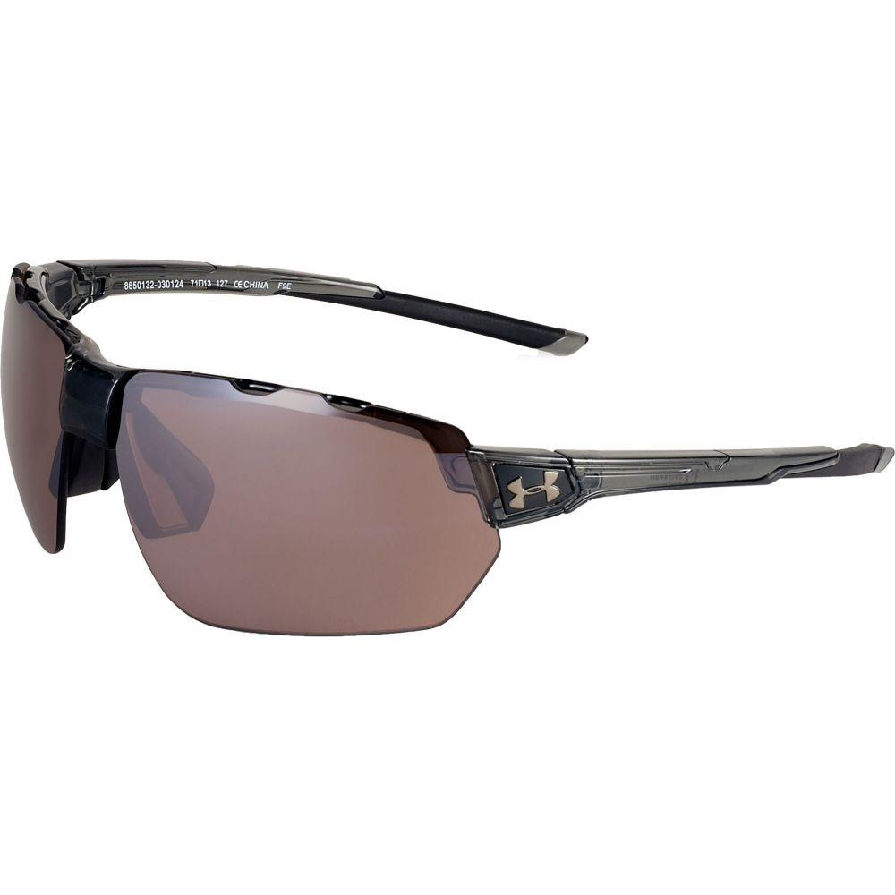 アンダーアーマー Under Armour ユニセックス メガネ・サングラス 【Conquer Tuned Sunglasses】Gray/Black