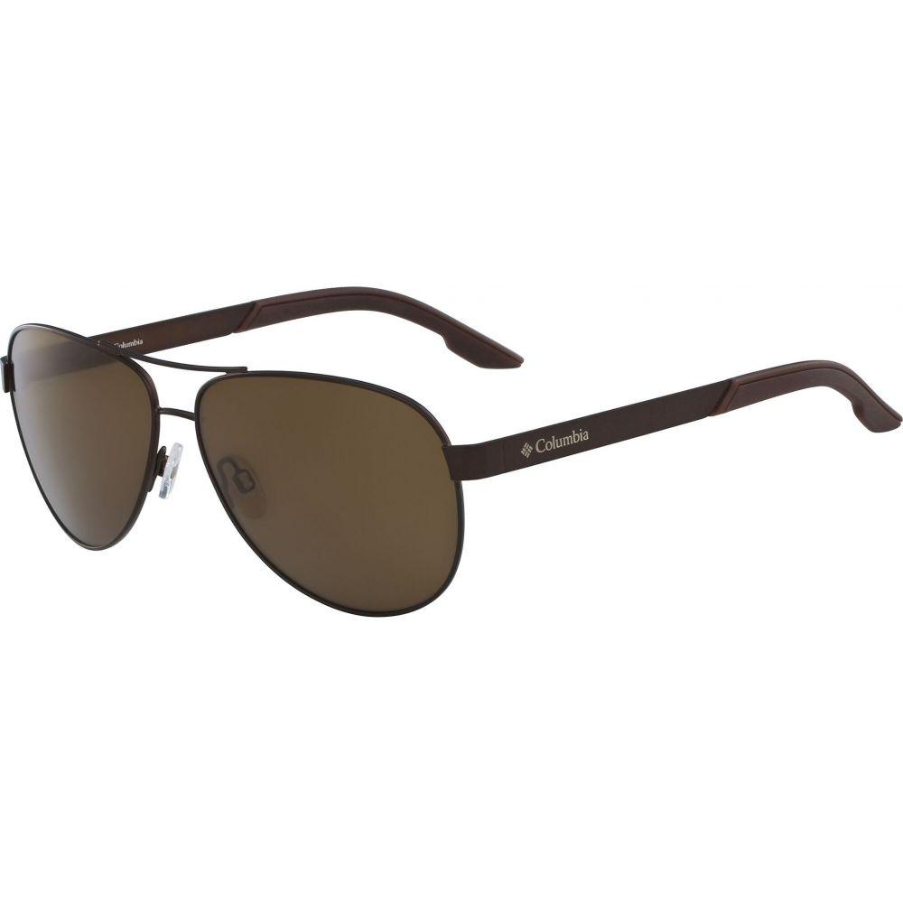 コロンビア Columbia ユニセックス メガネ・サングラス 【Trail Summit Polarized Sunglasses】Walnut