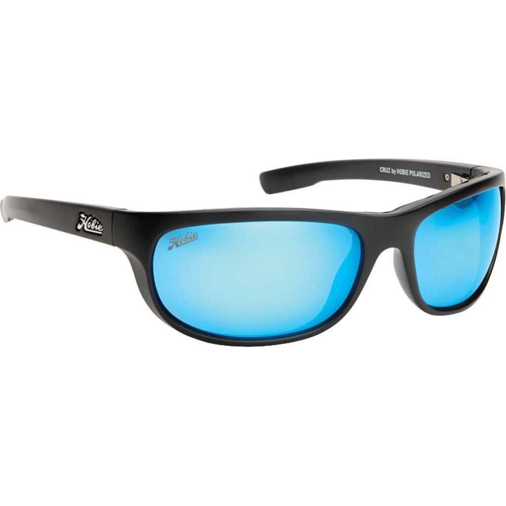ホビー Hobie ユニセックス メガネ・サングラス 【Cruz Polarized Sunglasses】Satin Black/Blue Mirror