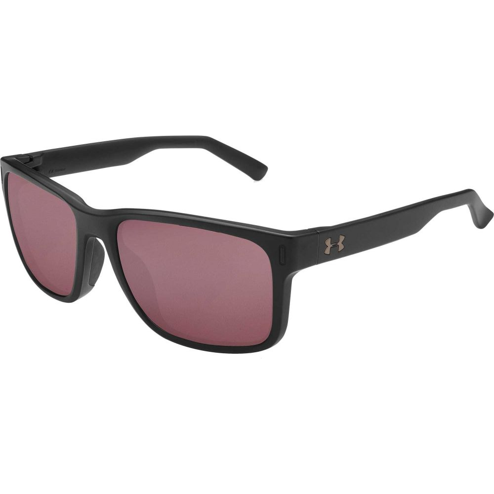 アンダーアーマー Under Armour ユニセックス スポーツサングラス 【Assist Tuned Golf Sunglasses】Satin Black/Golf Lens