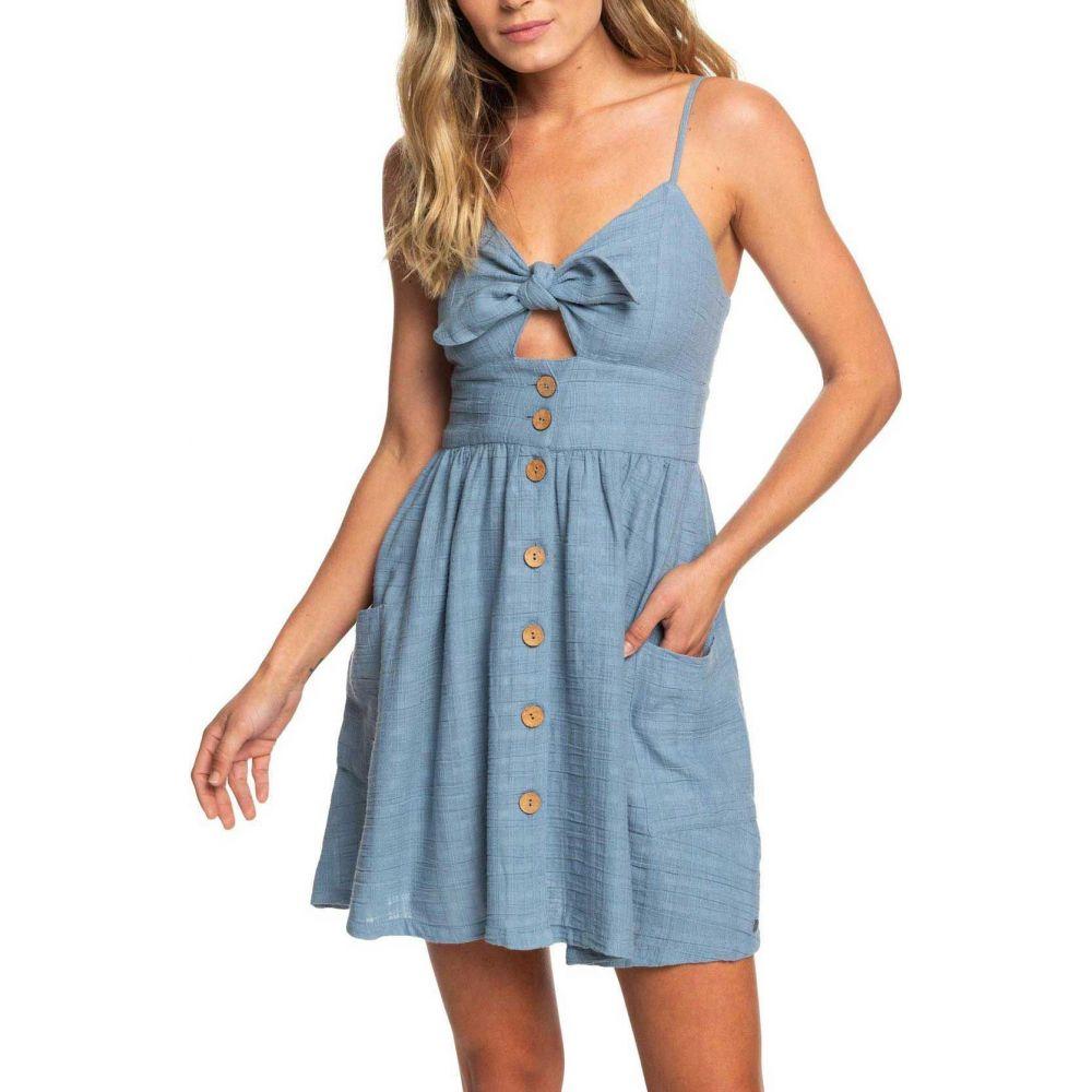 ロキシー Roxy レディース ワンピース サンドレス ワンピース・ドレス【Under The Cali Sun Dress】Blue Shadow
