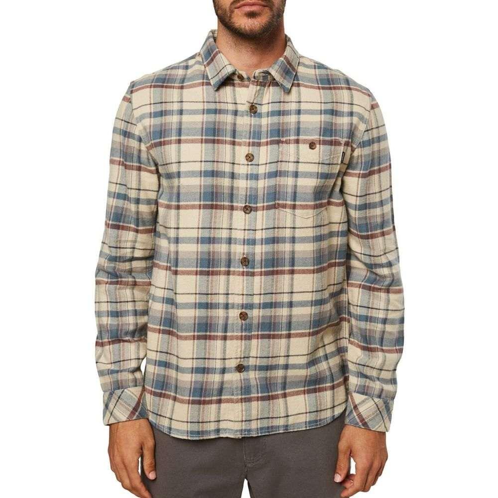 オニール O'Neill メンズ シャツ フランネルシャツ トップス【Redmond Flannel Shirt】Light Khaki