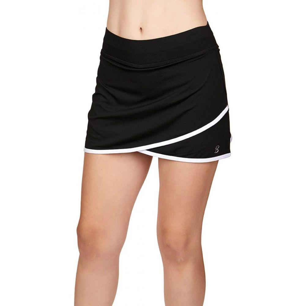 ソフィベラ Sofibella レディース テニス スカート ボトムス・パンツ【Sofi-Staple 14 Tennis Skort】Black
