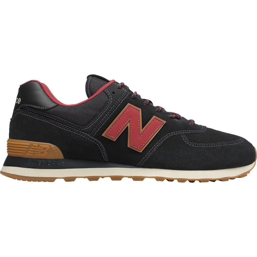 ニューバランス New Balance メンズ スニーカー シューズ・靴【574 v2 Shoes】Black/Red