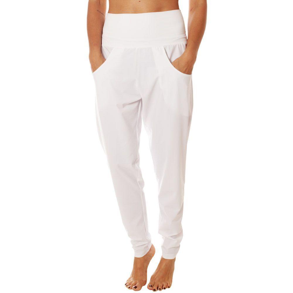 ソフィベラ Sofibella レディース スウェット・ジャージ ボトムス・パンツ【Lounge Pants】White