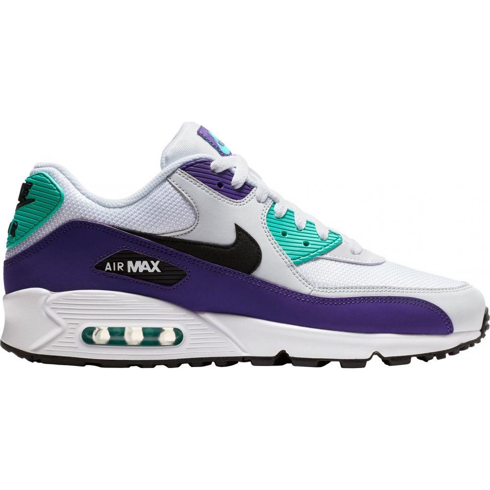 ナイキ Nike メンズ シューズ・靴 【Air Max '90 Essential Shoes】White/Purple
