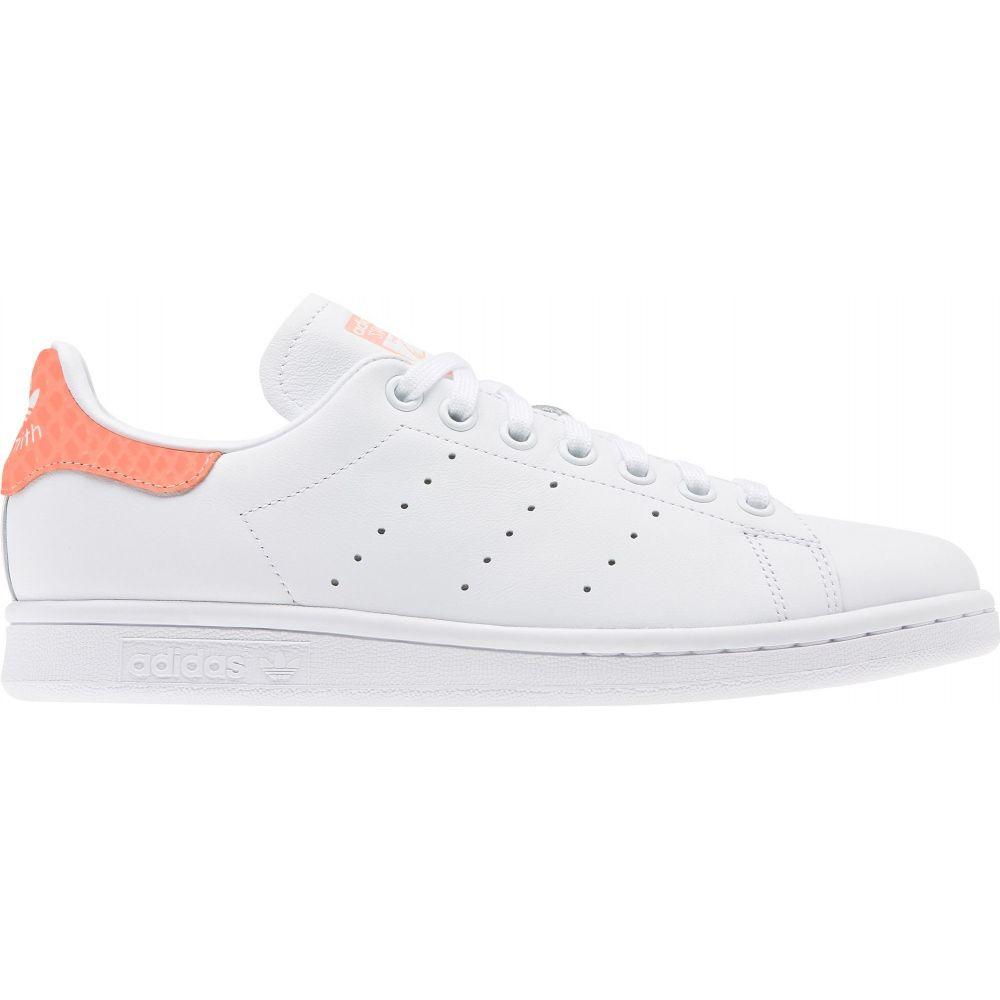 アディダス adidas レディース スニーカー スタンスミス シューズ・靴【Originals Stan Smith Shoes】White/Coral