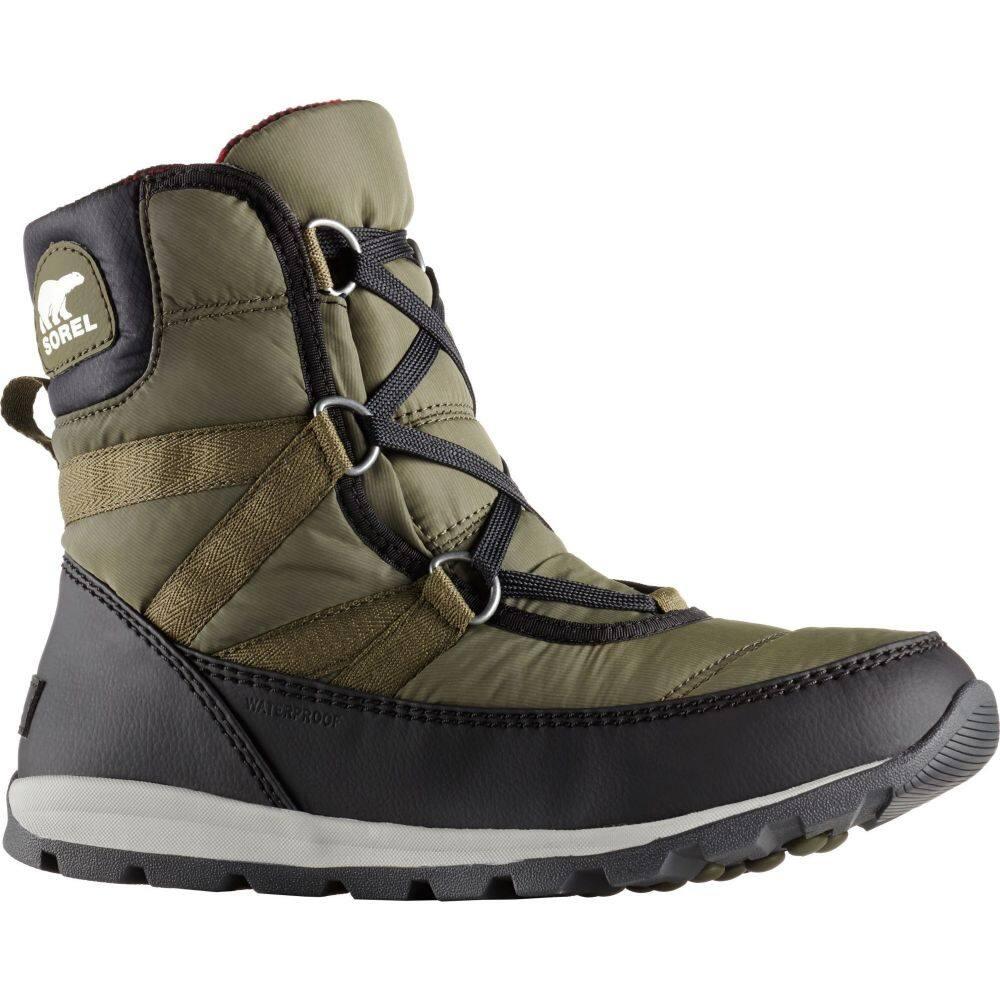 ソレル SOREL レディース ブーツ ウインターブーツ シューズ・靴【Whitney Short Lace 200g Waterproof Winter Boots】Nori