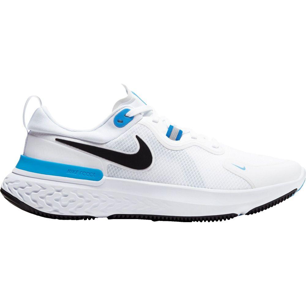 ナイキ Nike メンズ ランニング・ウォーキング シューズ・靴【React Miler Running Shoes】White/Black/Blue