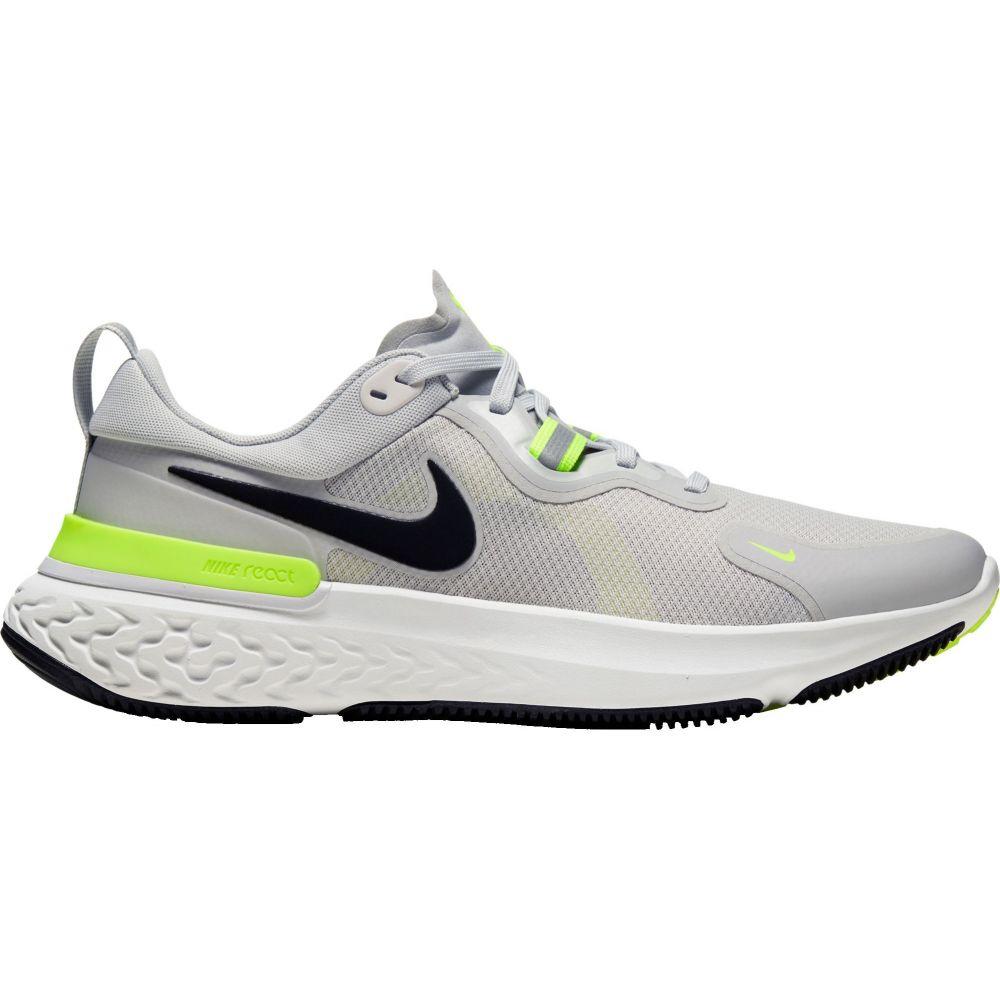 ナイキ Nike メンズ ランニング・ウォーキング シューズ・靴【React Miler Running Shoes】Grey/Volt