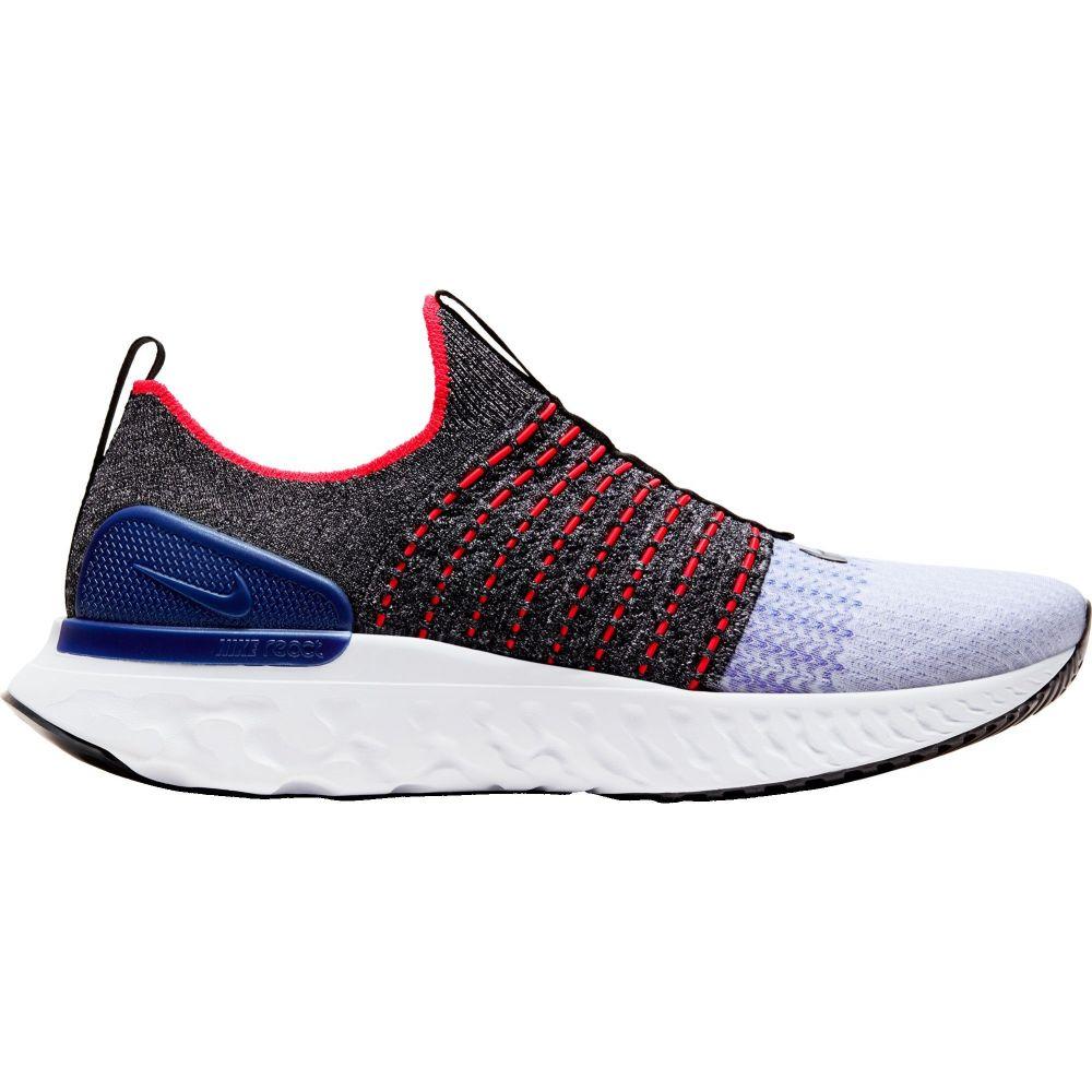 ナイキ Nike メンズ ランニング・ウォーキング シューズ・靴【React Phantom Run Flyknit 2 Running Shoes】Black/White/Racer Blue