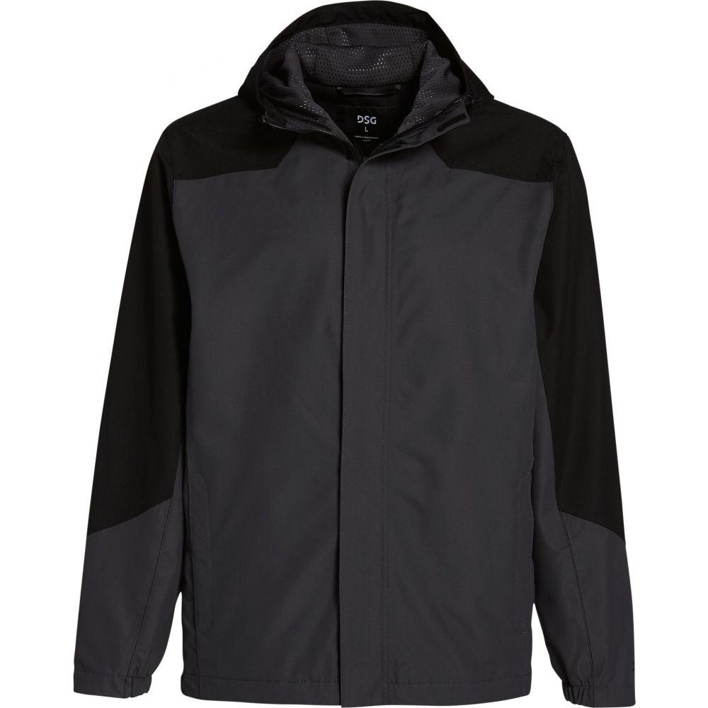 DSG メンズ レインコート アウター【Waterproof Rain Jacket】Pure Black