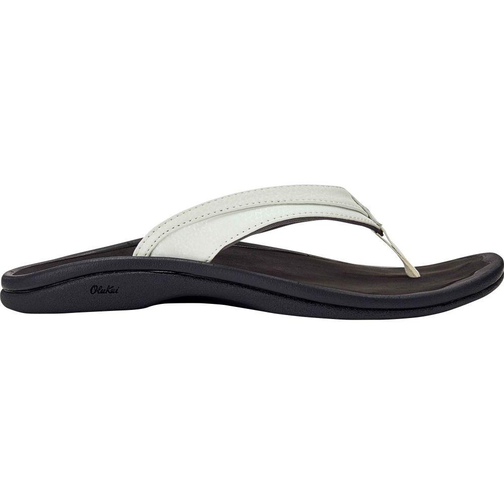 オルカイ OluKai レディース サンダル・ミュール シューズ・靴【Ohana Sandals】White/Black