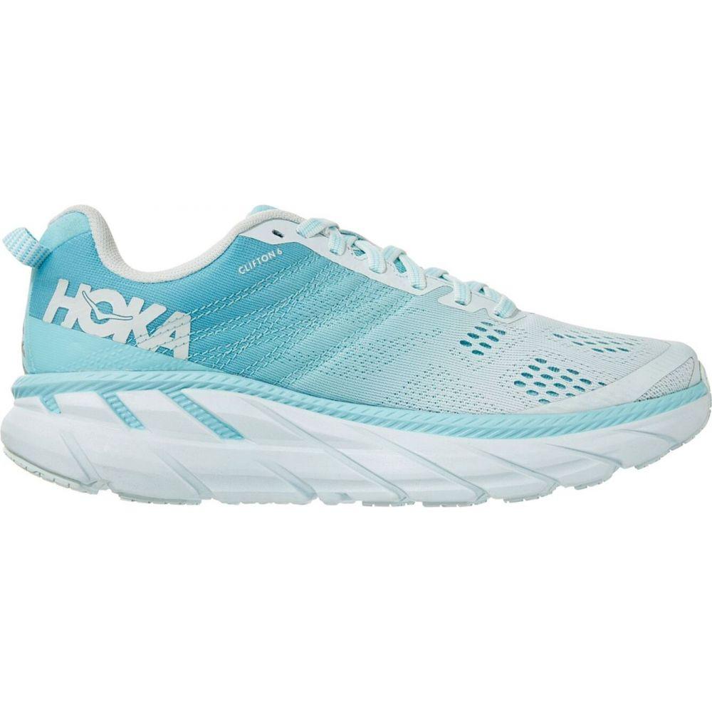 ホカ オネオネ Hoka One One レディース ランニング・ウォーキング シューズ・靴【HOKA ONE ONE Clifton 6 Running Shoes】Sand/Blue