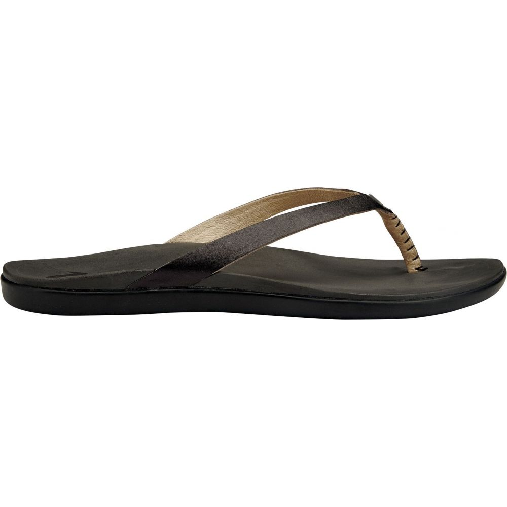 オルカイ OluKai レディース サンダル・ミュール シューズ・靴【Ho'opio Leather Sandals】Onyx