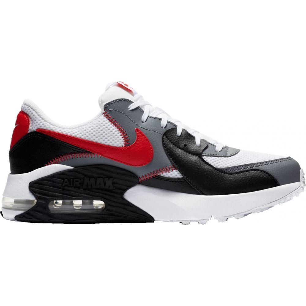ナイキ Nike メンズ スニーカー シューズ・靴【Air Max Excee Shoes】White/University Red/Blck