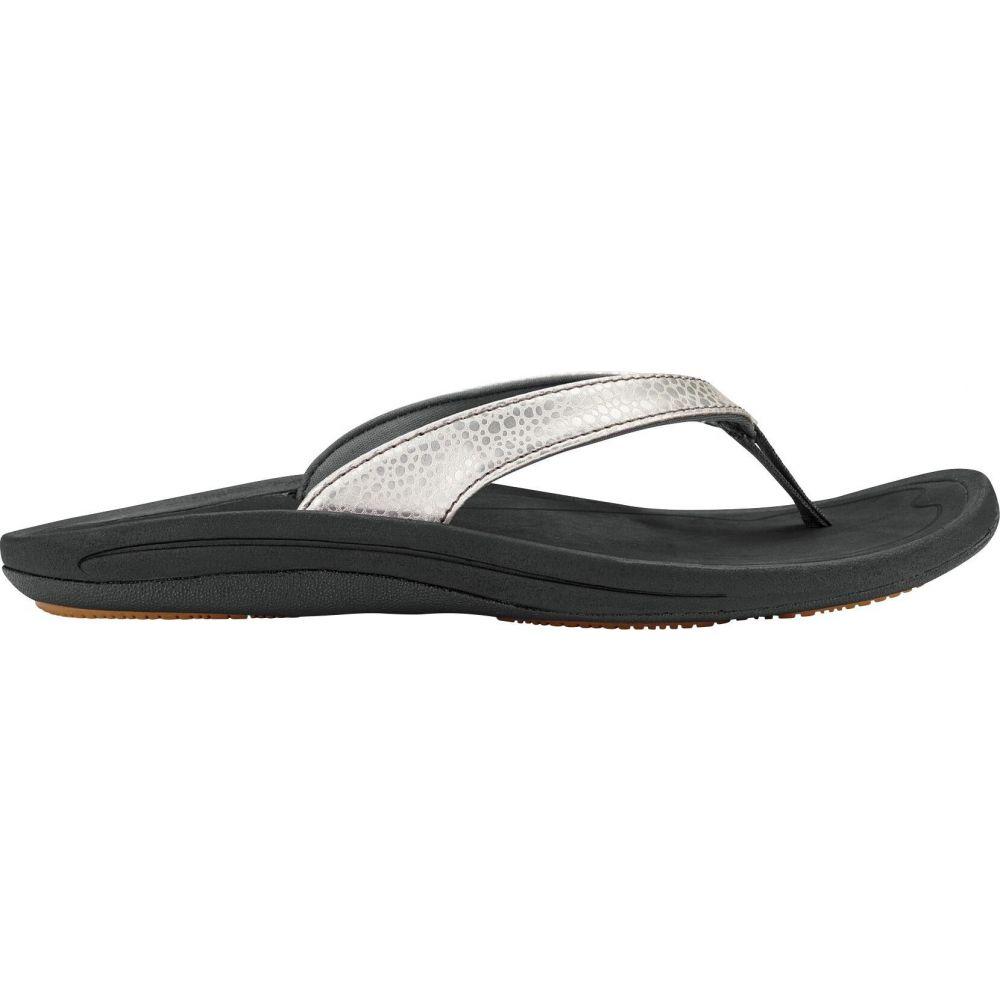 オルカイ OluKai レディース サンダル・ミュール シューズ・靴【Kulapa Kai Sandals】Silver