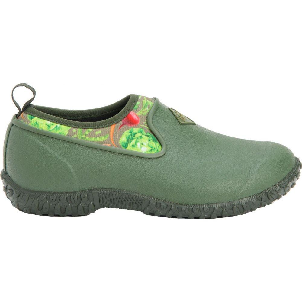 マックブーツ Muck Boots レディース シューズ・靴 【Muckster II Low Casual Shoes】Green/Veggie Print