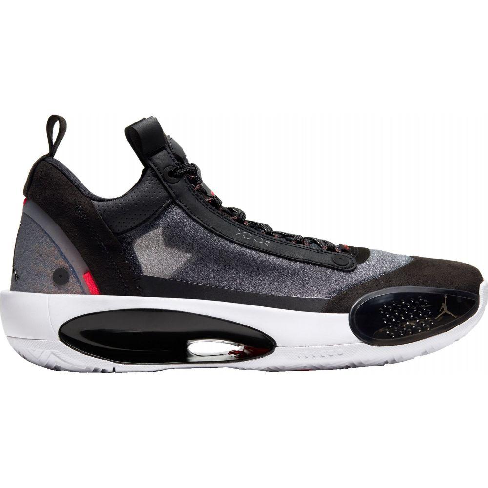 ナイキ ジョーダン Jordan メンズ バスケットボール シューズ・靴【Air XXXIV Low Basketball Shoes】Black/Silver/Red