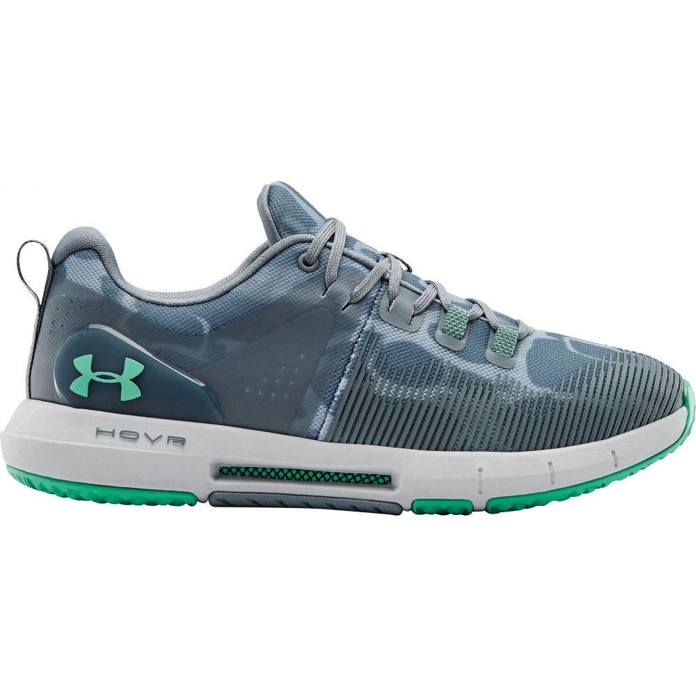 アンダーアーマー Under Armour レディース フィットネス・トレーニング シューズ・靴【HOVR Rise Print Training Shoes】Turquoise/Grey
