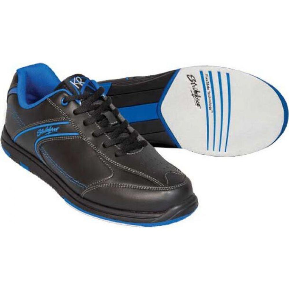 ストライクフォース Strikeforce メンズ ボウリング シューズ・靴【KR Flyer Wide Bowling Shoes】Black/Blue