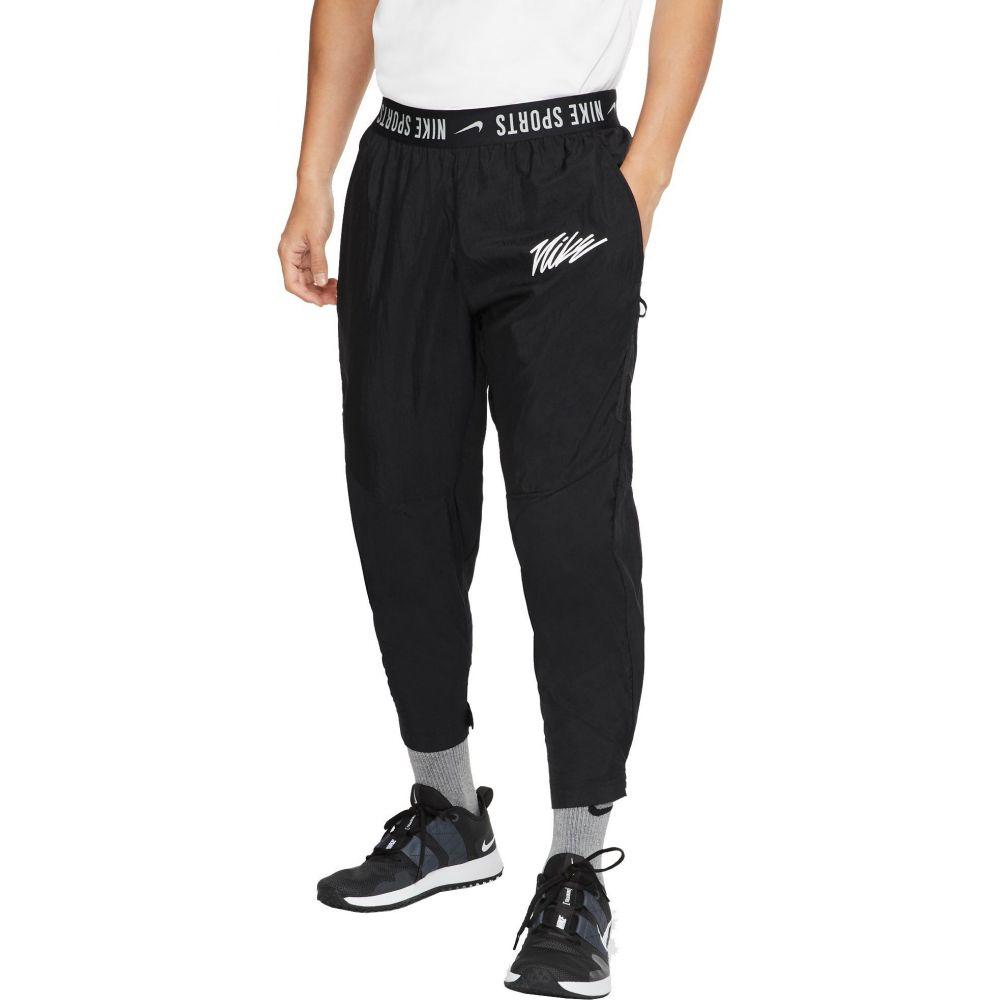 ナイキ Nike メンズ フィットネス・トレーニング ボトムス・パンツ【Sport Clash Woven Training Pants】Black/Black