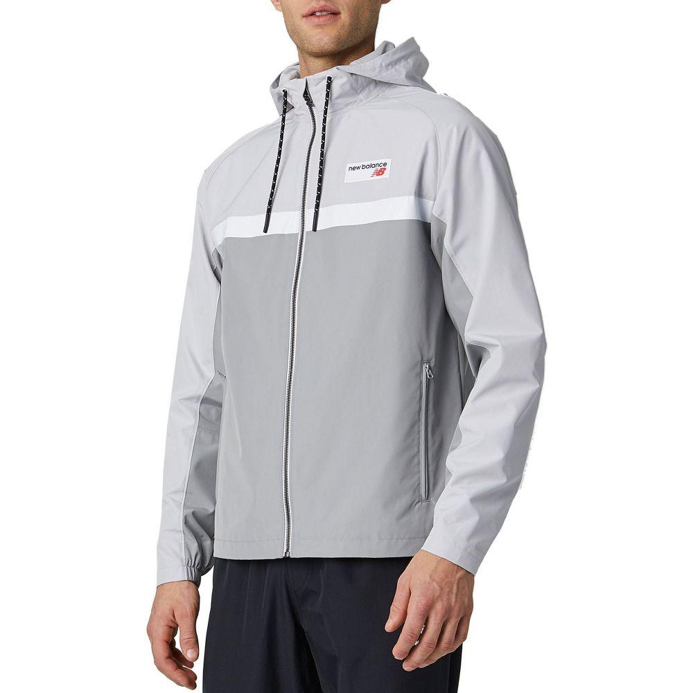 ニューバランス New Balance メンズ ジャケット アウター【Athletics 78 Full-Zip Jacket】Grey