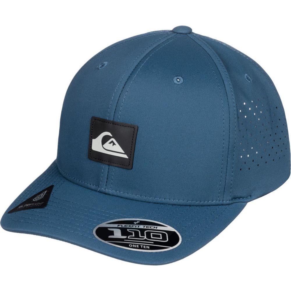 クイックシルバー Quiksilver メンズ 帽子 【Adapted Flexfit Hat】Navy Blazer