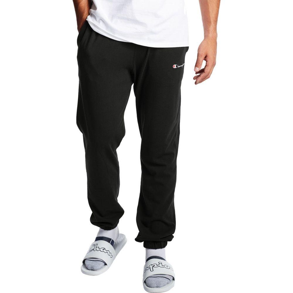 チャンピオン Champion メンズ ジョガーパンツ ボトムス・パンツ【Athletics Middleweight Jogger Pants】Black/Oxford Gray
